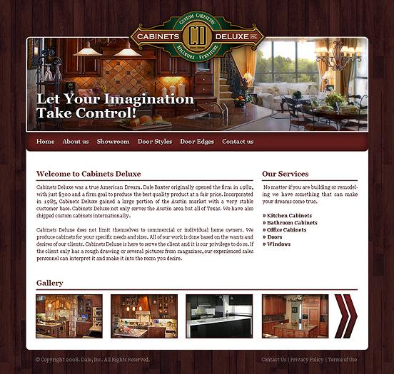уеб дизайн на мебелна фирма