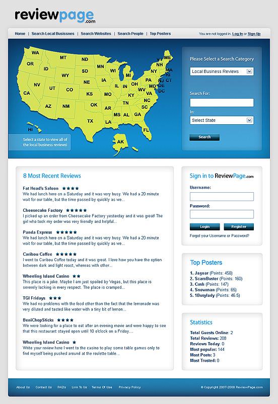 редизайн на сайт за рецензии