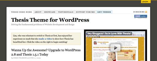 thesis-wordpress
